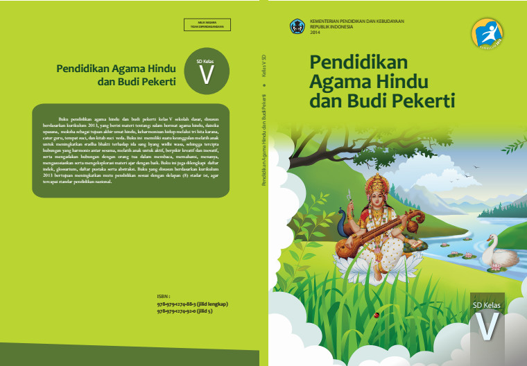 Download Gratis Buku Siswa Pendidikan Agama Hindu Dan Budi Pekerti Kelas 5 SD Kurikulum 2013 Format PDF