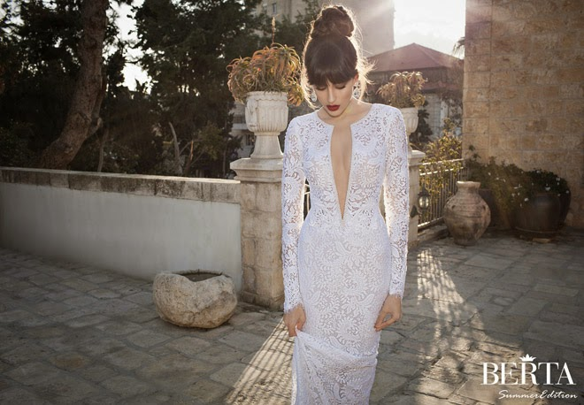 Berta Bridal Summer 2014 Wedding Dresses - Part 2 - Belle The Magazine