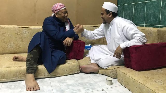 Kapitra: Habib Rizieq akan Minta Kontrak Politik ke Prabowo
