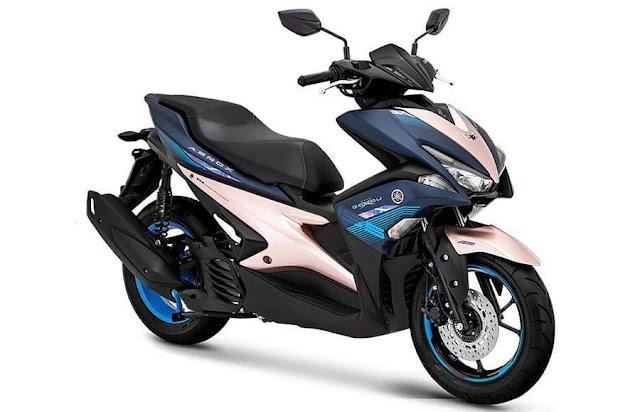 Warna Baru Yamaha AEROX 155 VVA S Doxou Version