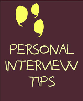 PERSONAL INTERVIEW FOR BANK PO