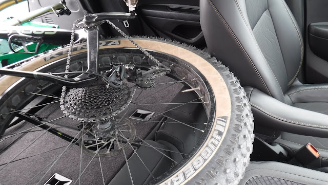 Fatbike Republic, fat bike, Newfoundland, Will my fat bike fit in a, Will my bike fit in a, fat bike in SUV, fatbike in SUV, Will my fat bike fit in a Chevy Trax