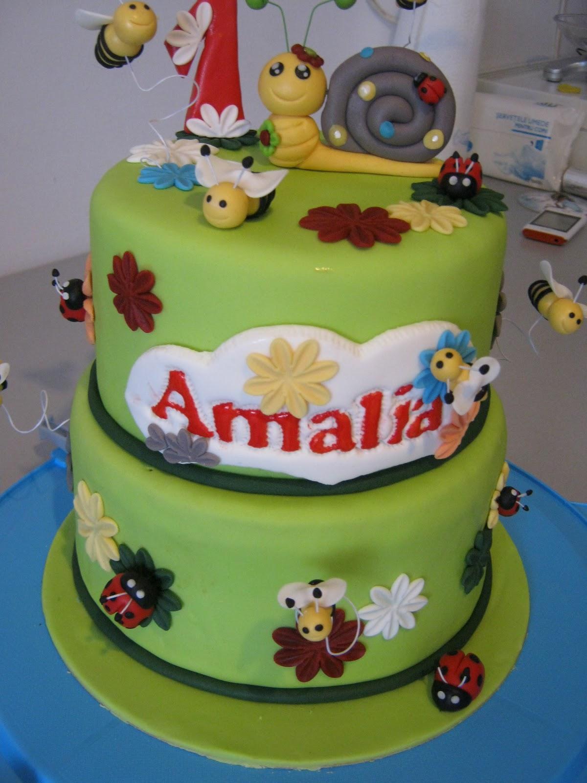 Duuulce și atât!: Un dulce pentru primul anisor al Amaliei...