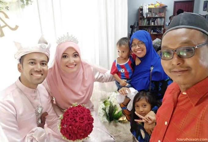 Hadiri Kenduri Kahwin Rakan Blogger Yuyu Atiqa di Kelantan