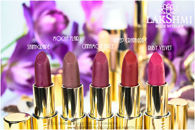lipstick rossetti review lakshmi makeup vegan ecobio
