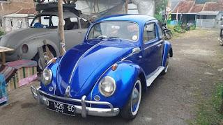 Dijual VW Kodok Belo Taon 61