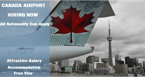 how to get a job at the airport toronto