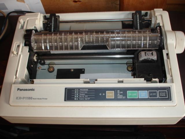 Panasonic dot matrix printer kx-p1150 drivers download update.