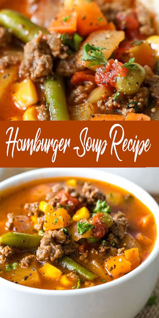 Hamburger Beef Soup Recipe
