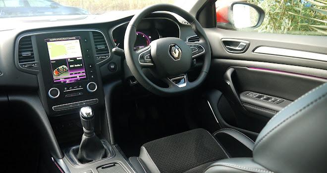 Renault Megane front interior
