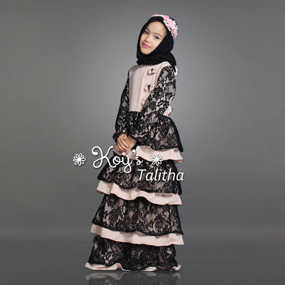 Talitha Couple Mom Kid By Koys Melody Fashion Aretha Tunik 4warna