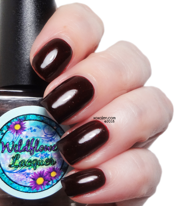 xoxoJen's swatch of Wildflower: Autumn