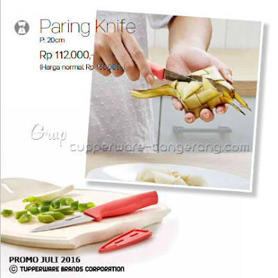 Paring Knife ~ Katalog Tupperware Promo Juli 2016