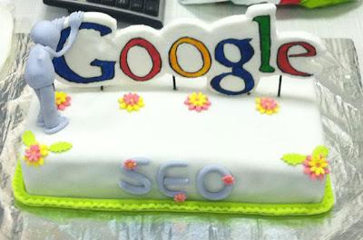 Gâteau Google