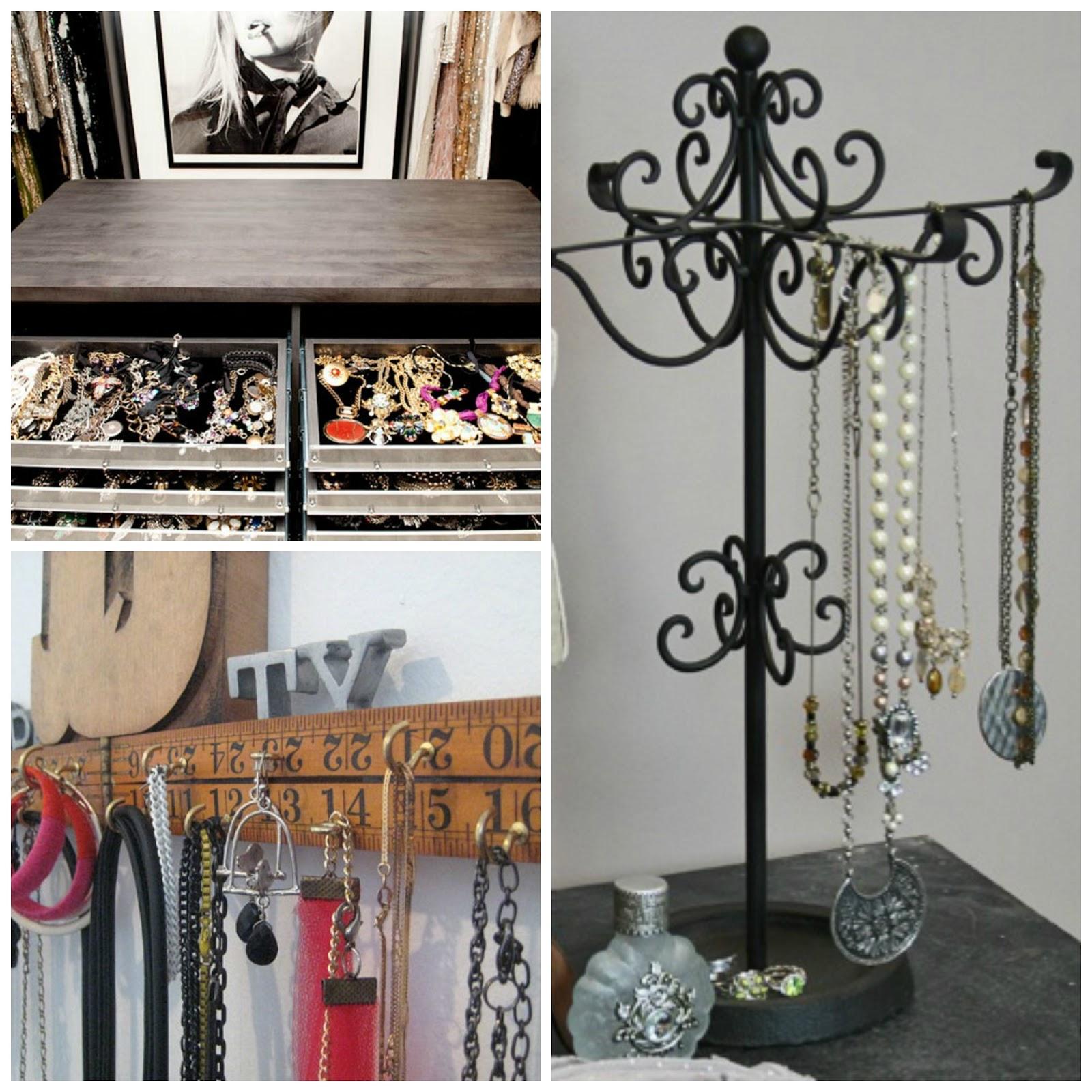 inspirations 4 des id es rangements bijoux boudoir mon beau boudoir. Black Bedroom Furniture Sets. Home Design Ideas