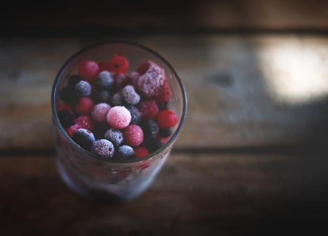 fagyasztott gyümölcs