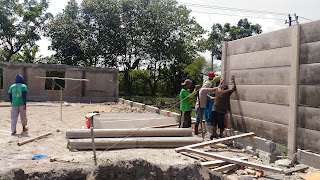 pagar beton panel precast Sleman Jogja