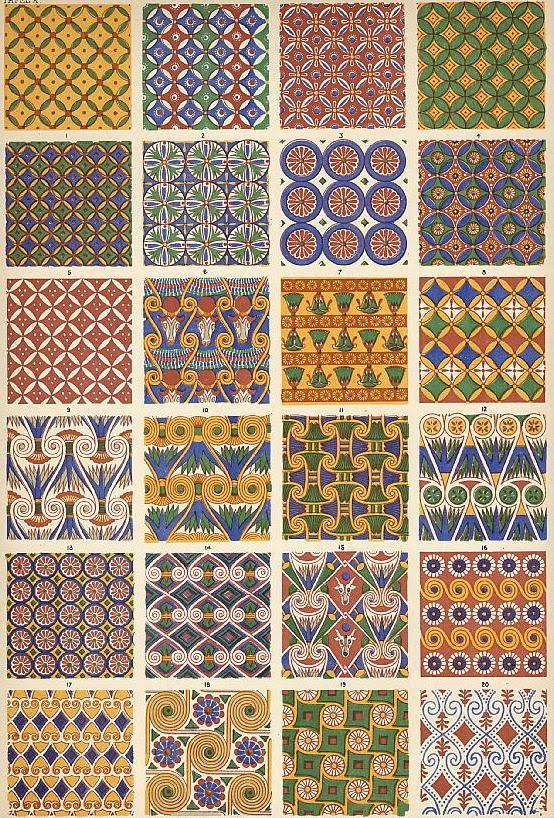 Egyptian Art Patterns 171 Free Patterns