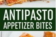 Antipasto Appetizer Squares