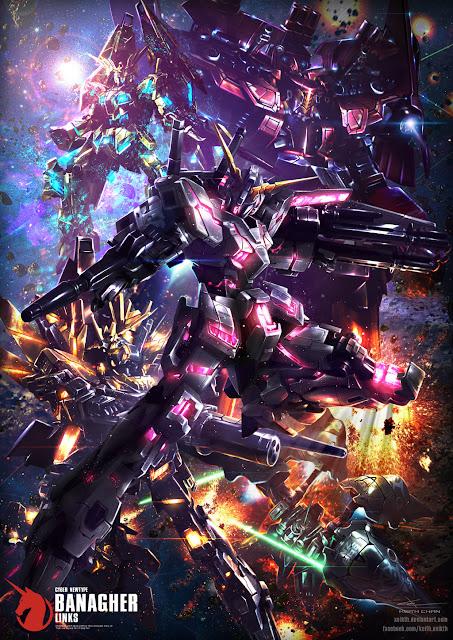Kido Senshi Gundam Unicorn by Xeikth