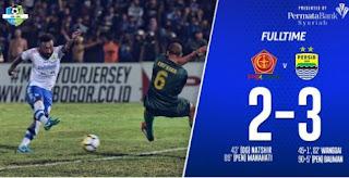 Wanggai 2 Gol, Persib Bandung Taklukkan PS Tira 3-2