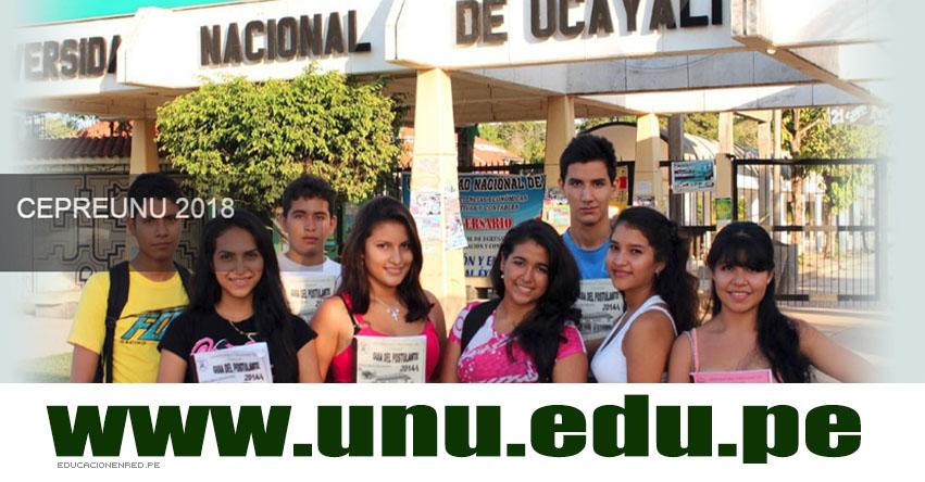 Resultados CEPRE UNU 2019-2 (2 Diciembre) Lista Ingresantes Segundo Examen - Pucallpa - CEPREUNU Centro Pre Universitario - Universidad Nacional de Ucayali - www.unu.edu.pe