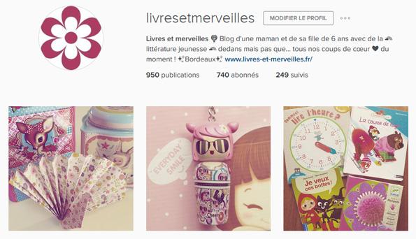 Livres et merveilles sur Instagram - Mois d'avril 2016