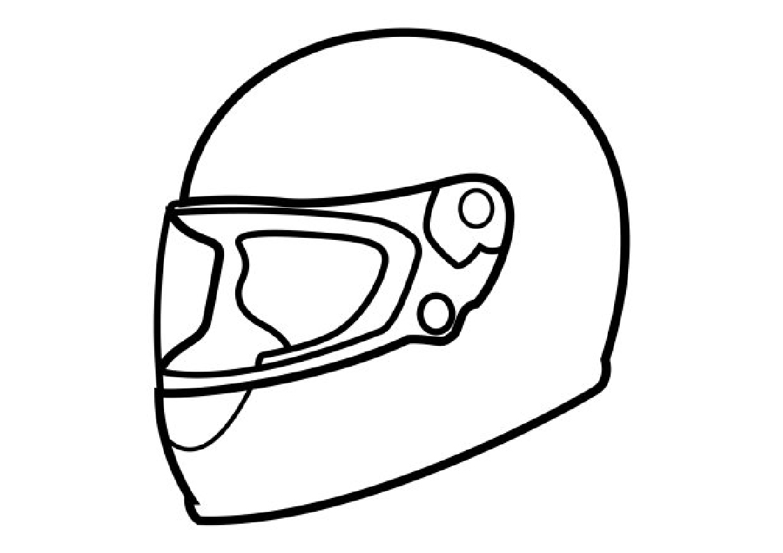 best Dibujos De Cascos De Motos Para Colorear image collection