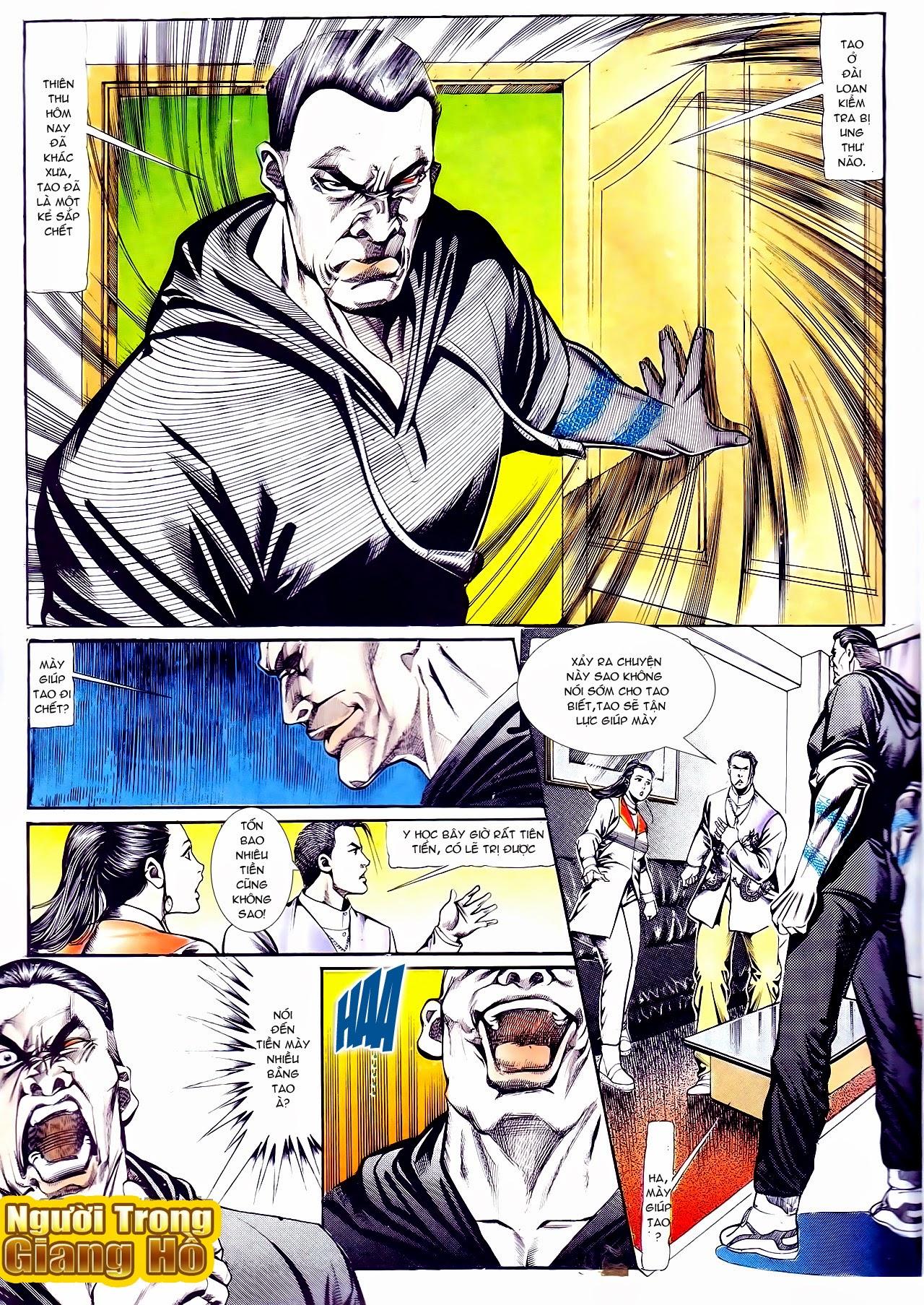 Người Trong Giang Hồ chapter 111: đời không nuối tiếc trang 9