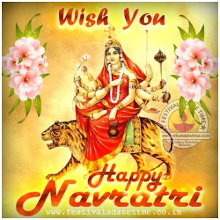 Happy Navratri Wallpaper Free Download 9