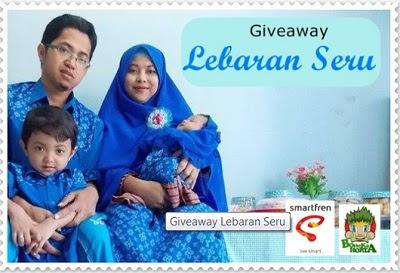 Giveaway keluargabiru : lebaran seru