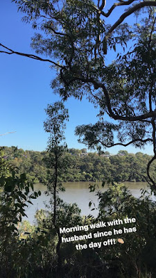 Morning Walks with the Husband at Oatley Park