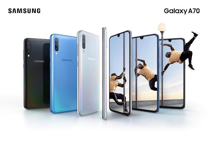 Captura, conecta y conquista con el nuevo Samsung Galaxy A70