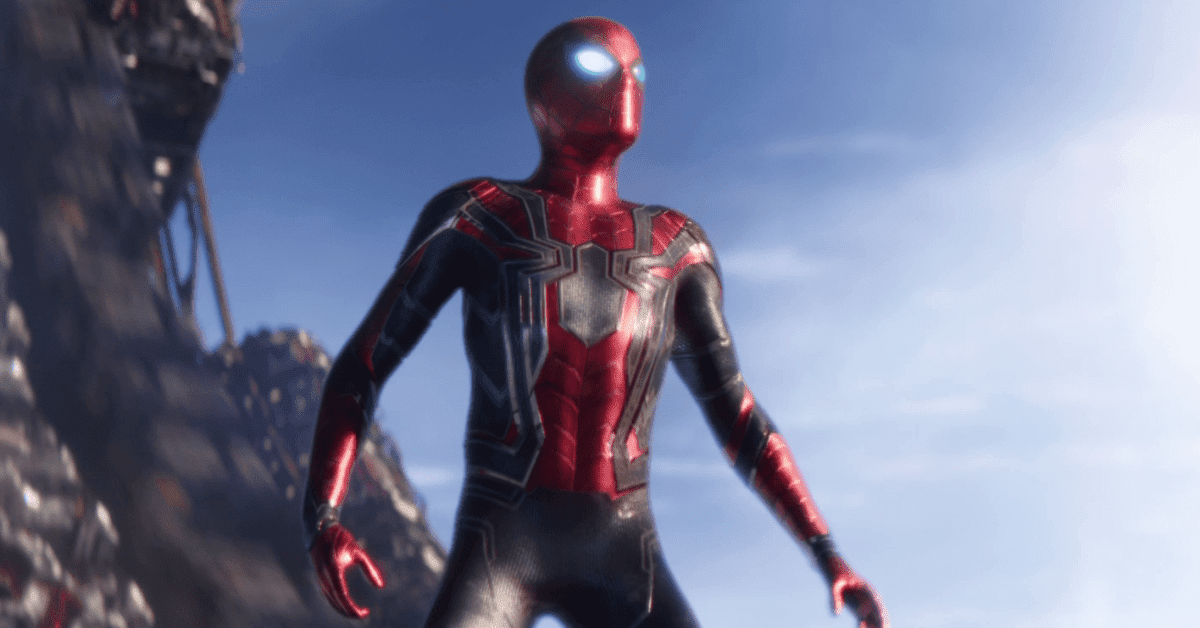 Avengers Infinity War Iron Spider Statue Shows Off Spider