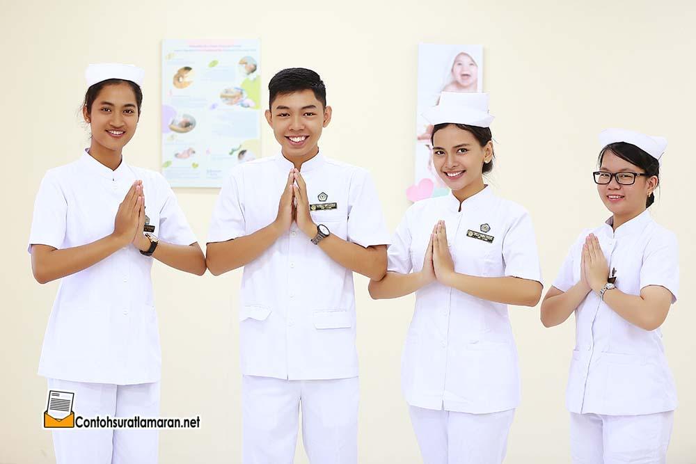 Contoh Surat Lamaran Kerja Sebagai Perawat di Rumah Sakit