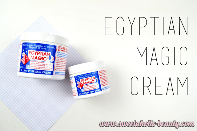 Egyptian Magic Cream Review - Sweetaholic Beauty