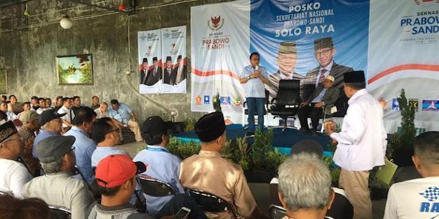 Taufik Sebut Ada Gerakan Ubah Pilihan ke Prabowo – Sandi