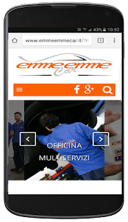 Nuovo sito mobile www.emmeemmecar.it