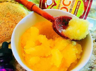 Orange Sugar Scrub