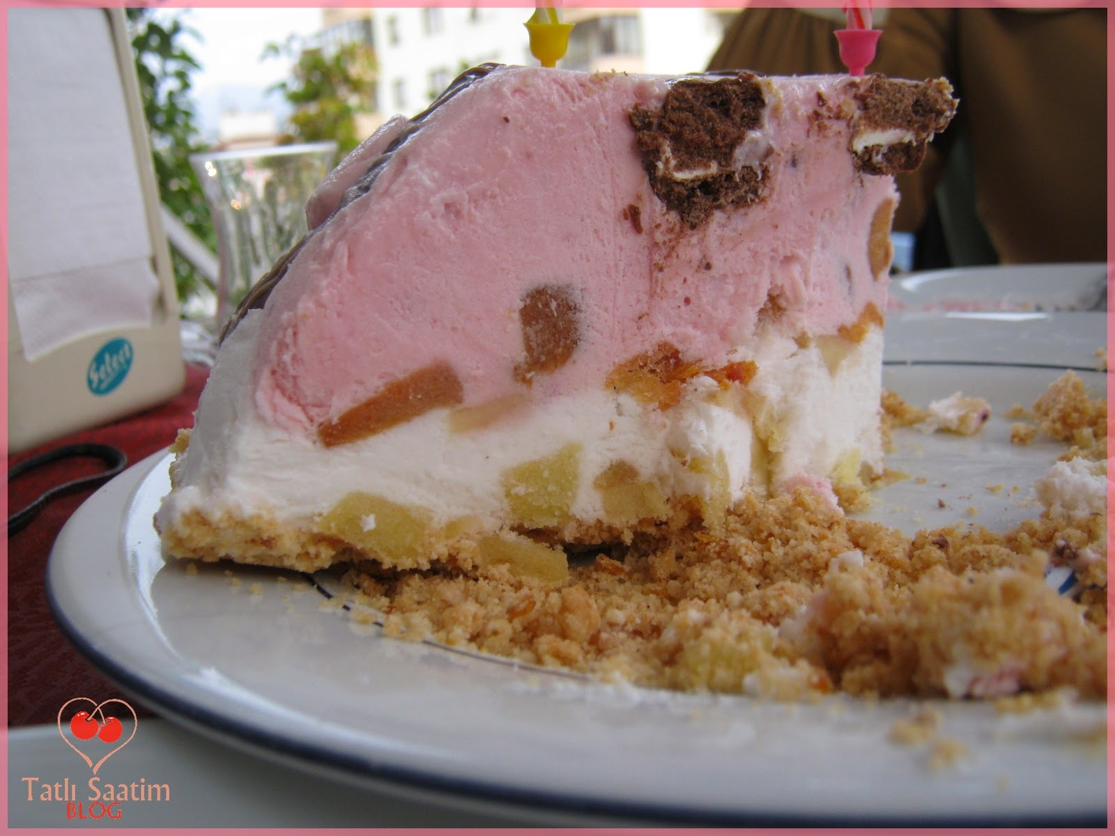 dondurmalı kek pasta tarifi