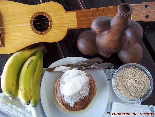 Tortitas De Gofio Y Plátano.