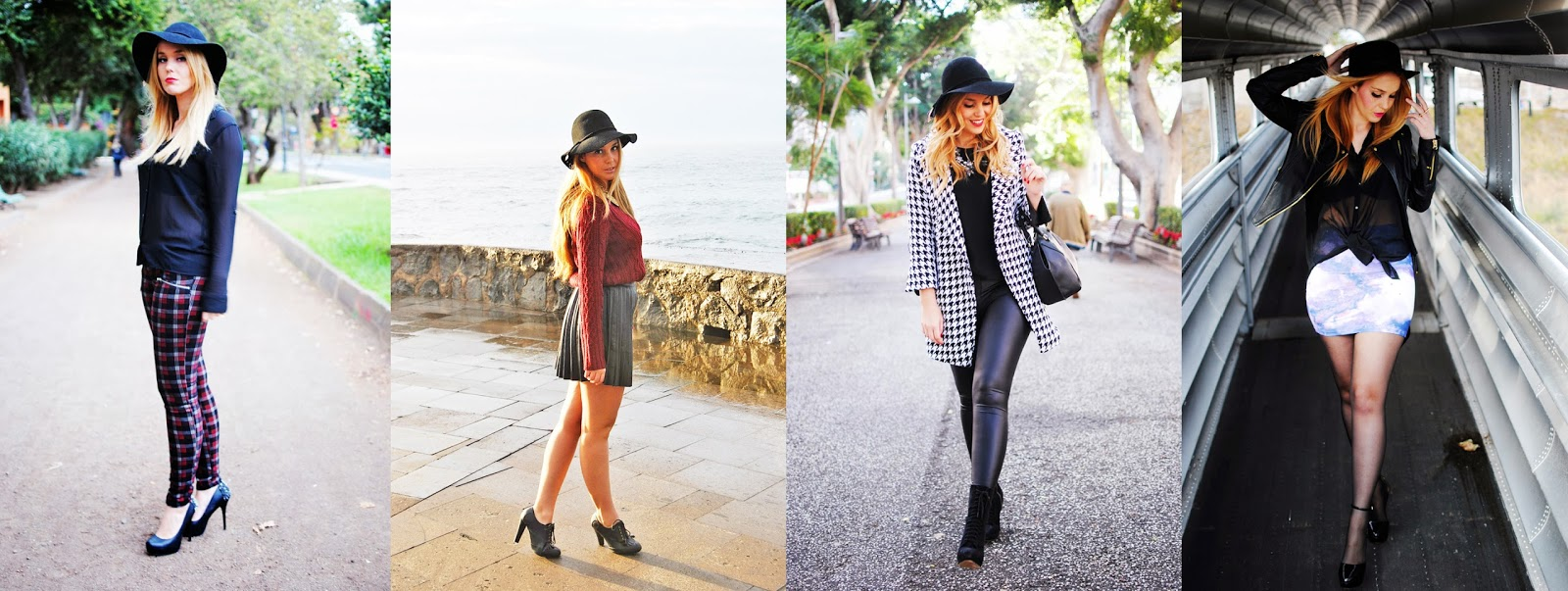 Nery hdez, hat, black hat, fashion blogger tenerife,