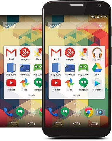 Make Your Android Like Latest Google Android L OS on moonshine icon pack