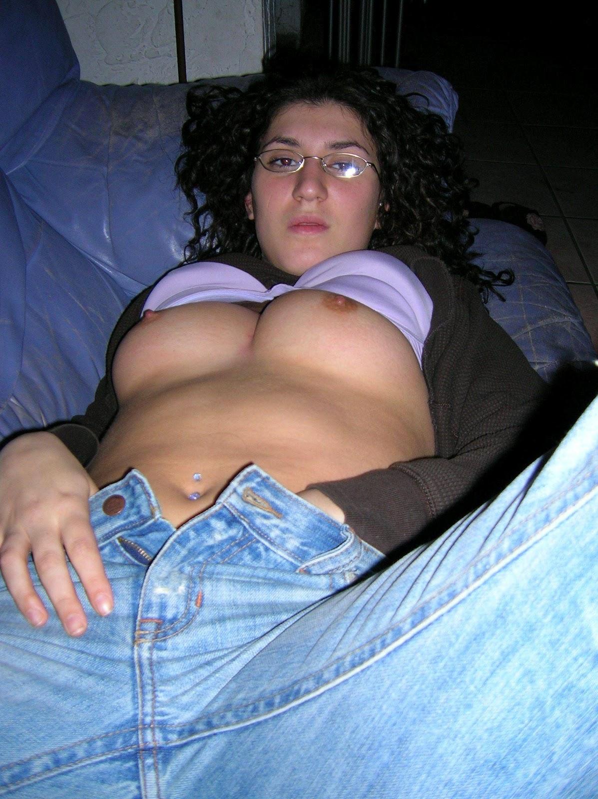 Jeans Masturbation