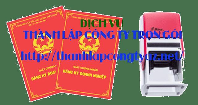 Dịch vụ thành lập công ty trọn gói giá rẻ ở tphcm