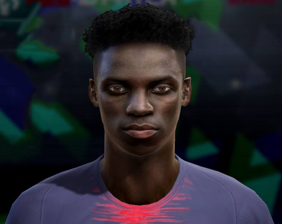 PES 2013 Weah (PSG) face by Pablobyk