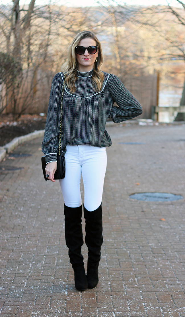White Jeans for the Holidays