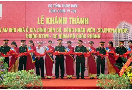 Lễ khánh thành dự án 789 Bộ Tổng Tham Mưu