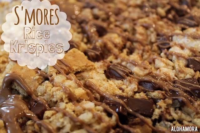S'mores Rice Krispie Treats/Bars. A little twist on your classic dessert recipe, but it is just as easy to make as the original treats.  Alohamora Open a Book http://alohamoraopenabook.blogspot.com/ egg free, no bake, simple, classic with a twist