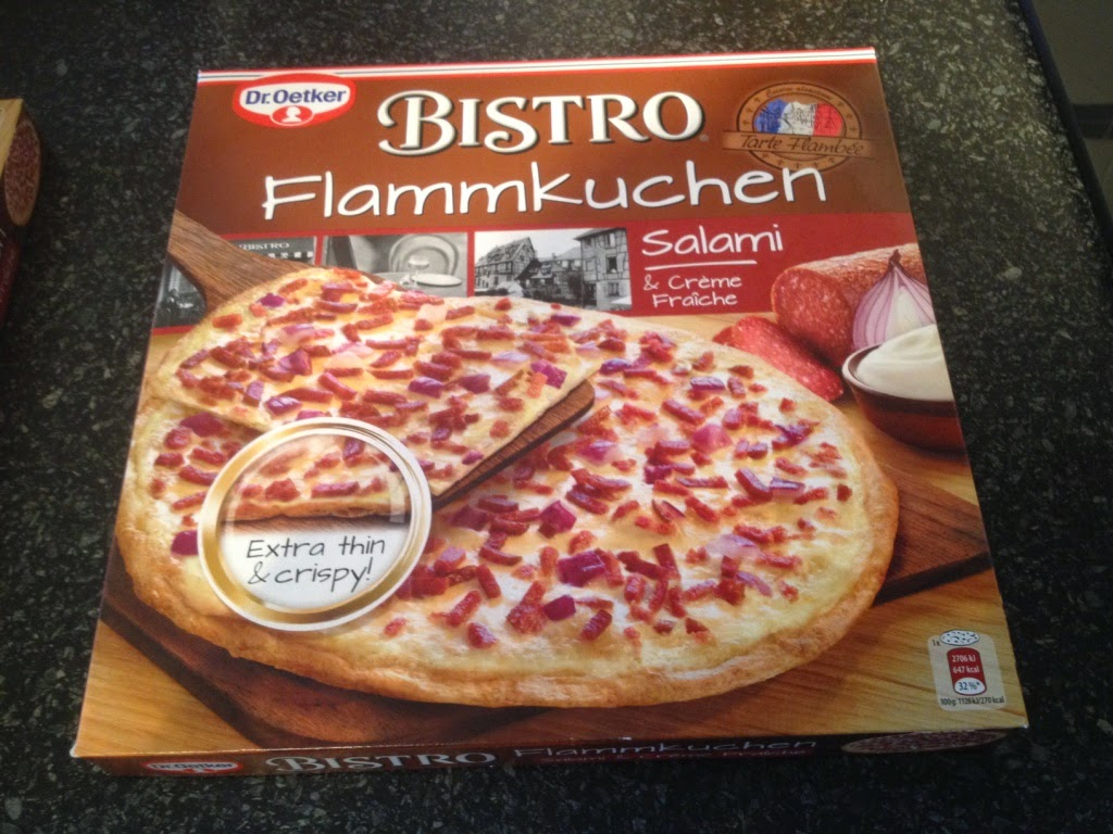 My happy kitchen test: Dr. Oetker flammkuchen